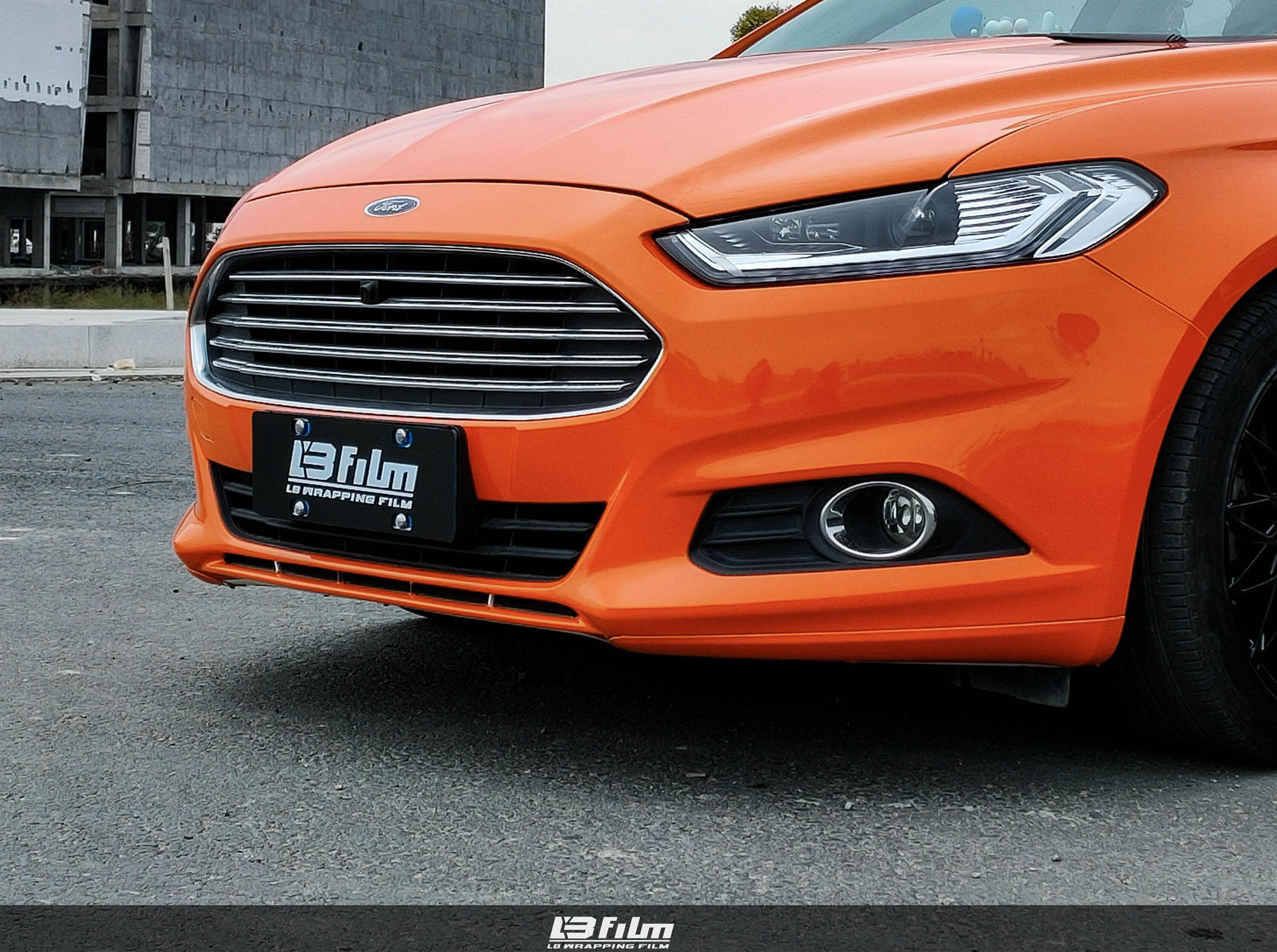 福特-高亮橙