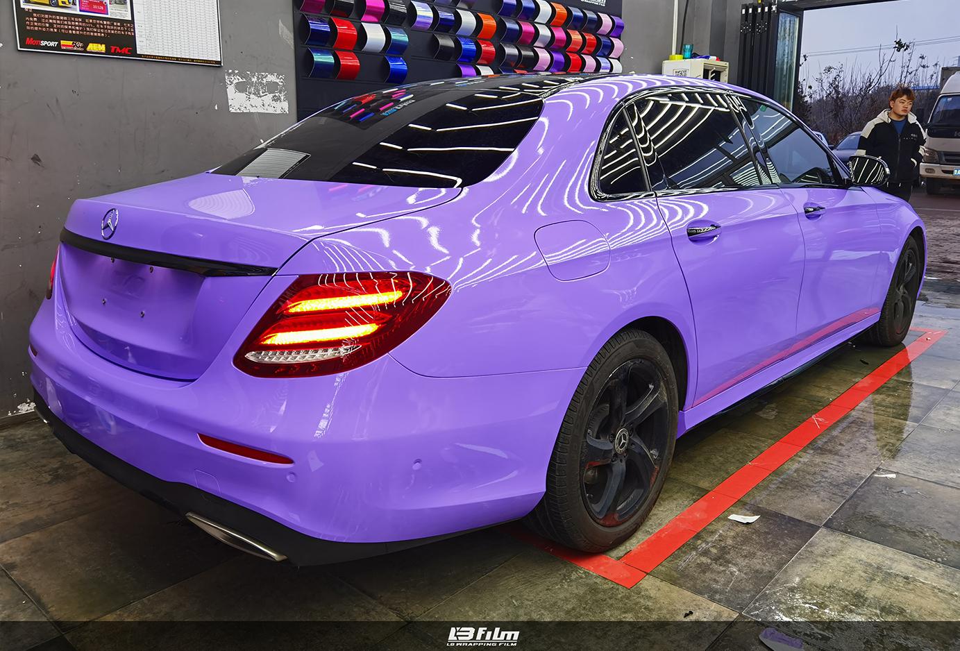 奔驰钻石梦幻紫
