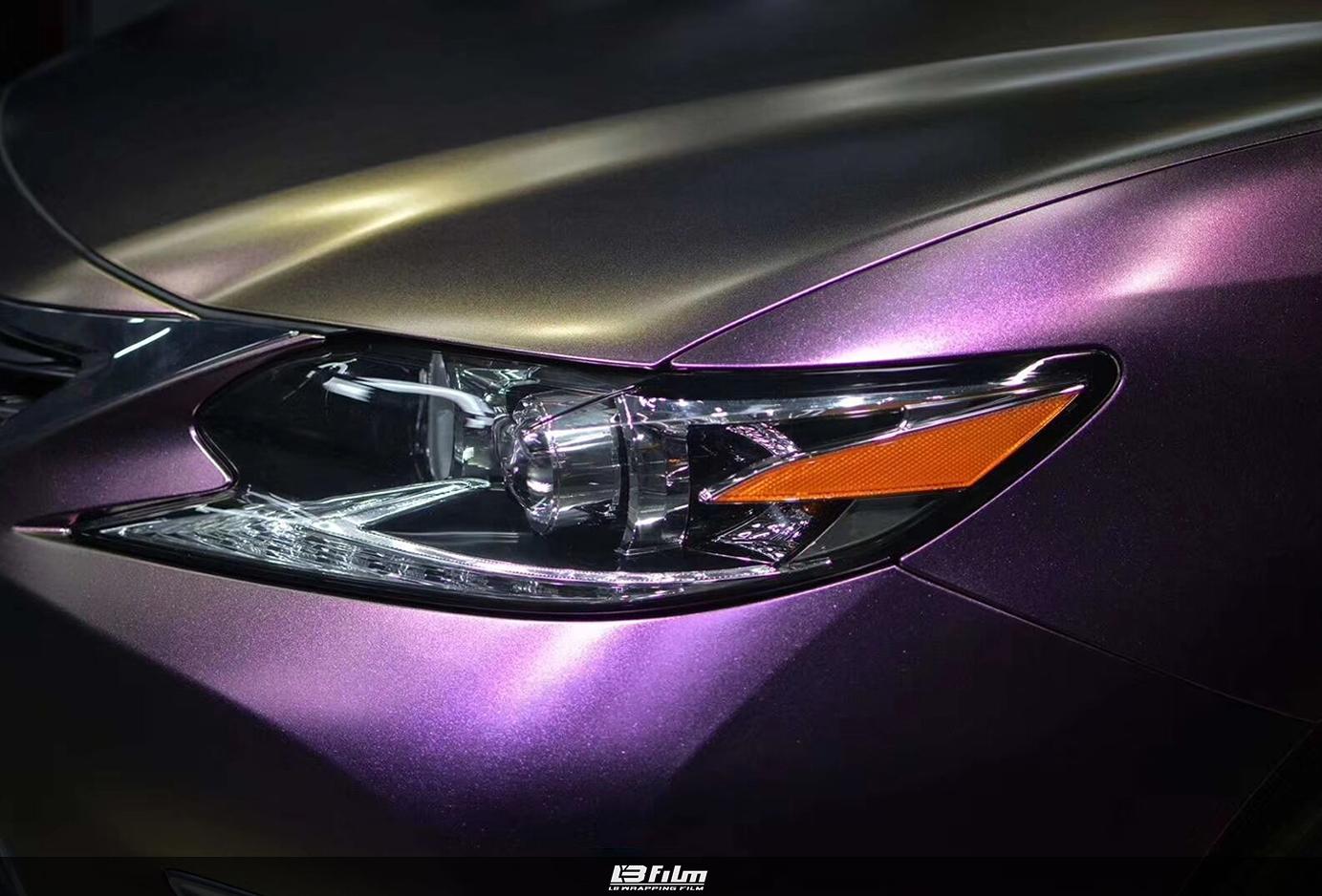 雷克萨斯  哑面钻石酱紫