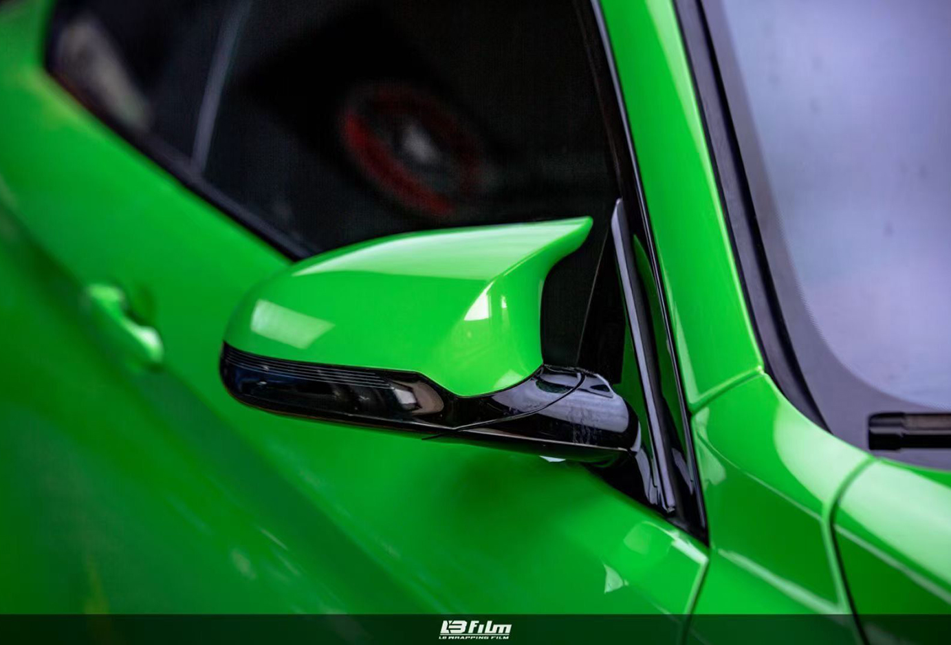 宝马 蜥蜴绿